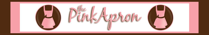 Follow on TWITTER @pinkapronblog !