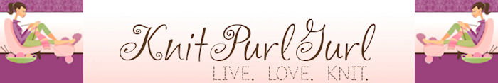 Follow on TWITTER @knitpurlgurl !